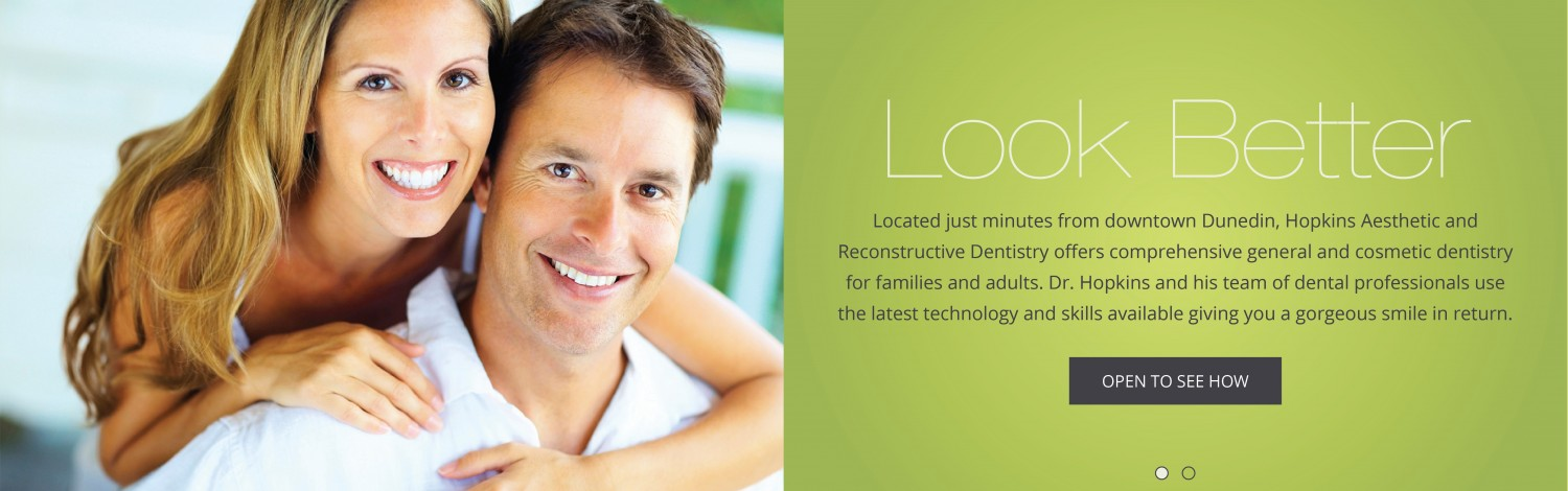 Dr. Hopkins and his team of dental professionals use the latest technology and skills available giving you a gorgeous smile in return.