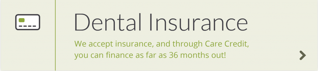 All About Smiles accepts insurance through Care Credit